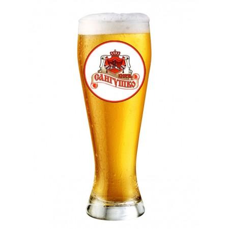 """Пиво """"Князь Сангушко"""" Світле Фільтроване 5,6%"""