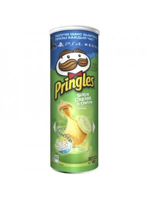 Чіпси «Pringles» сметана-цибуля 165 г