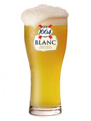 """Пиво """"Kronenbourg 1664"""" Белое Нефильтрованное 4,8%"""