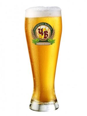 """Пиво """"Медовое светлое"""" Нефильтрованное 4,4%"""